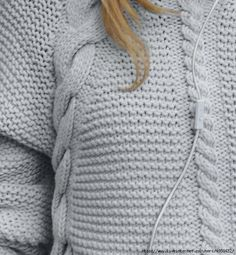 image-34 (631x683, 233Kb) Knit Art, Needle And Thread, Cardigans For Women, Knitting Patterns, Sewing Projects, Winter Fashion, Pullover, Female, Stylish