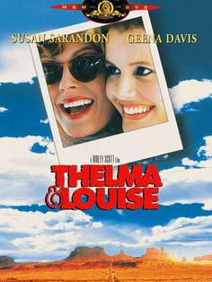 Thelma & Louise Susan Sarandon, Geena Davis, Brad Pitt and Michael Madsen Susan Sarandon, Brad Pitt, Geena Davis, Thelma Louise, Great Films, Good Movies, Excellent Movies, Awesome Movies, Sete Anos No Tibet