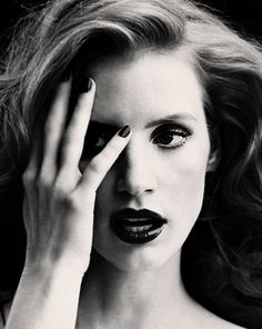 Jessica Chastain for Elle