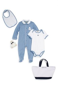 Armani Junior Gift Set (Baby Boys) available at #Nordstrom