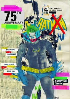 BATMAN: 75th Anniversary by Marcos Faunner, via Behance
