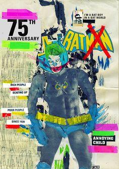 BATMAN: 75th Anniversary by Marcos Faunner, via Behance