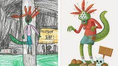 Monster Project 2015, dibujos infantiles que cobran vida