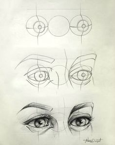 Eye Drawing Tips: