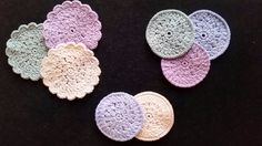 make-up runddeller Make-up rounddogs can be crocheted after this crochet recipe, you get the most beautiful make-up rounds and the recipe is easy to f. Crochet Faces, Love Crochet, Crochet Yarn, Quilt Blocks Easy, Quilt Patterns, Crochet Patterns, Cloth Pads, Crochet Home Decor, Yarn Projects