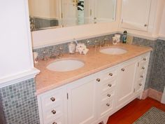 Both marble and granite occur naturally. Especially granite is formed in the earth's crust while it is being pressed upon by several layers of rocks. Thus, it naturally has the ability to restrain heat, pressure and is impenetrable. And the first thing that grabs our attention is the unmatched beauty of these. Thus bathroom marble vanity tops or bathroom granite vanity tops are ideal and enhance the bathroom decor.