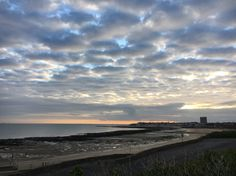 Margate from Westbrook, April sunrise
