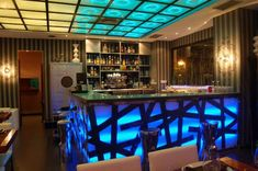 PROYECTOS created with VisualLightBox, a free wizard program that helps you easily generate beautiful Lightbox-style web photo galleries Indoor Bar, Sky Bar, Luxury Homes Dream Houses, Bar Interior, Bar Lounge, Interiores Design, Modern Design, Decoration, Sushi Bars