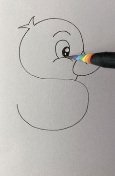 Cute Easy Drawings, Art Drawings Sketches Simple, Art Drawings For Kids, Hand Art Kids, Diy Canvas Art, Canvas Paintings, Creative Art, Creative Drawing Ideas, Doodle Art Designs