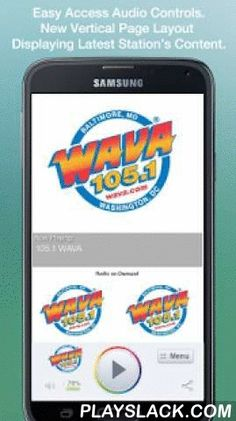 105.1 WAVA  Android App - playslack.com , Never be without your favorite radio station. 105.1 WAVA is proud to present our OFFICIAL radio app. Listen to us at work, home or on the road. Install our app and get instant access to our unique content, features and more!- New design and interface- See current playing show and up to date station and local news on a single screen- Get notifications and single click access to any station promotions or contests- View station's YouTube channel without…