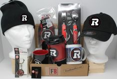 Fan-gear gift box of 6 Ottawa RedBlacks Products, best gift of CFL team souvenirs, Fan-gear at GREAT VALUE! Canada's sports gift box service, combos available in CAD or build your OWN BOX! Ottawa Redblacks, Certificate Of Achievement, Sports Gifts, Fan Gear, Best Gifts, Fans, Content, Box, Products