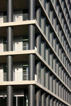 BREEAM Oficinas de nueva construcción.- One Pancras Square, Kings Cross, Londres. Arquitecto, David Chipperfield Architects. Cortesía de Tom Harvey, BREEAM Awards.
