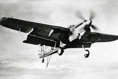 Fairey Barracuda Mk II from 767 NAS lands aboard HMS Battler on July 17 1945, showing the Fairey-Youngman flap to good effect.