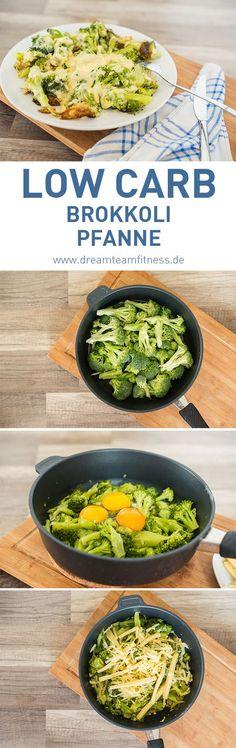 Low Carb Broccoli with cheese Recipe I Low Carb Brokkoli Pfanne mit Käse