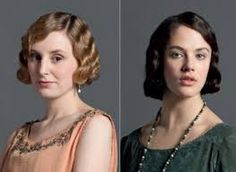 Image result for downton abbey hair