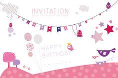 Carte D Invitation Anniversaire Fille 10 Ans A Imprimer