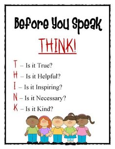 """""""That's What the Teacher Said..."""": Bullying Poster FREEBIE"""