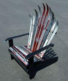 Nordic (cross country) ski chair by Adirondack Ski Chairs of Lake Placid.