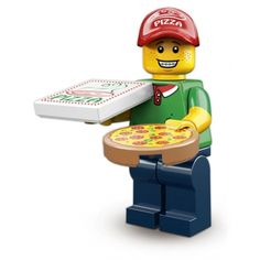 LEGO Minifigures - Pizza Delivery Man. £4.95