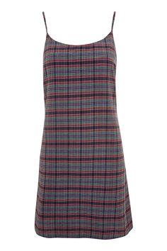 **Seersucker Checked Slip Dress by Nobody's Child - Dresses - Clothing - Topshop Europe
