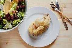 Курица, запечённая в морской соли Еда как шоу.