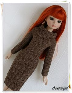 """bena-pl Clothes for Ellowyne Wilde, Amber, Lizette, Prudence 16"""" OOAK outfit"""
