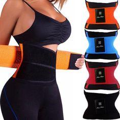 Waist Trainer Slimming Body Shaper Belt Strap