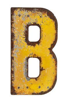 Love Vintage Sign Letters