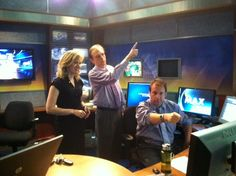 My silly TV friends :)