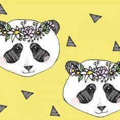 Flower Panda Yellow – BIO