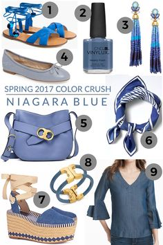 Spring 2017 Color Trends to Watch: Niagara Blue