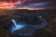 The Battle Between Light and Dark - View this one on black, please. Or don't... your choice.   Just some gorgeous sunrise light over the deep Palouse River Canyon and a raging Palouse Falls in winter. I've always loved the color contrasts and light contrasts in this shot, so I figured I'd revamp it a bit and share with anyone who bothers to look!  So anyways, I decided to discount all my instructional videos for the rest of the month. It's my birthday today and I figured I'd celebrate by…