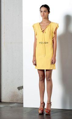 Look 30 . 314 Abito / Dress . 205P Scarpa / Shoes