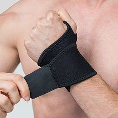 Reversible Sports Wrist Brace, EveShine Fitted Right / Le...