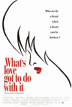 What's Love Got to Do with It is a 1993 American biopic film directed by Brian Gibson, loosely based on the life of Tina Turner. It stars Angela Bassett as Tina Turner and Laurence Fishburne as Ike Turner. Great Films, Good Movies, Teen Movies, Awesome Movies, Jennifer Lewis, Tina Turner, Original Movie Posters, About Time Movie, Movie Collection