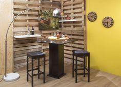 Mejores 44 Imagenes De Ideas De Mini Bares En Casa En Pinterest En - Bar-en-casa-decoracion