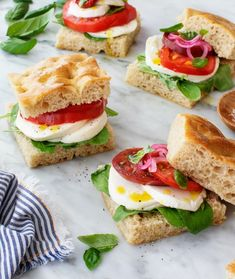 Caprese Salad Sandwiches - easy summertime meal that's healthy and Biblically clean | Land of Honey Caprese Sandwich Recipe, Pesto Recipe, Sandwich Recipes, Grilled Avocado, Grilled Veggies, Easy Macaroni Salad, Summertime Salads, Make Ahead Salads