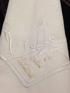 Baptism towel  in linen!