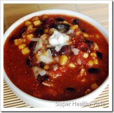 taco soup & Ranch dressing recipe