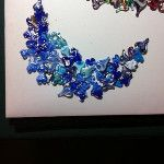 Heart Collage, Blue Moon, Glass Art, Original Art, Sculptures, Hearts, Peace, Handmade, Hand Made