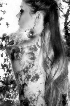 black n white romantic fantasy