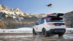 ~Land Rover unveils drone-equipped Discovery for search & rescue operations ...