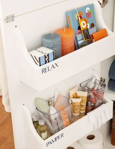 Free Cabinet Door Storage Bin Plans | 32 DIY Storage Ideas for Small Spaces | DIY Organization Ideas for Small Spaces