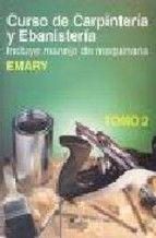 curso de carpinteria y ebanisteria  t. ii-alfred bethuen emary-9789681843366