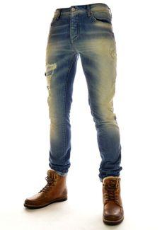 JEANS HEREN TIM ORIGINAL blauw Jack & Jones | Expresswear.nl