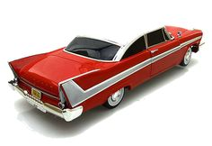 Diecast Auto World - Auto World 1/18 Scale 1958 Plymouth Fury CHRISTINE Night Time Version With Lights Diecast Car Model AWSS102, $69.99 (http://stores.diecastautoworld.com/products/auto-world-1-18-scale-1958-plymouth-fury-christine-night-time-version-with-lights-diecast-car-model-awss102.html/)