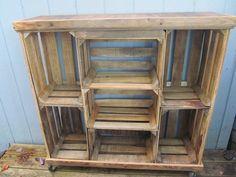 crate bookshelf - Google Search