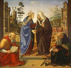 Visitazione con i santi Nicola e Antonio