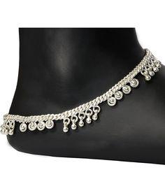 20 Latest Silver Payal Designs - ArtsyCraftsyDad Payal Designs Silver, Silver Payal, Jhumka Designs, Gold Jhumka Earrings, Anklet Designs, Temple Jewellery, Jewelry, Heart Melting, Indian Designer Wear