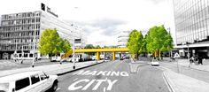 Moradores se unem para construir ponte de madeira com crowdfunding e renovam área da cidade que estava esquecida Pedestrian Bridge, Street View, World, City, Gallery, Social Projects, Public Spaces, Beautiful, Innovation